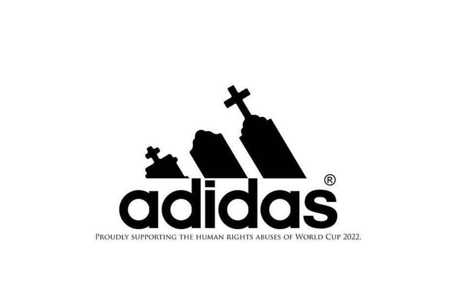 Anti-logo Adidas