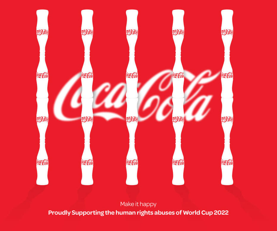 Anti-logo da Coca-Cola