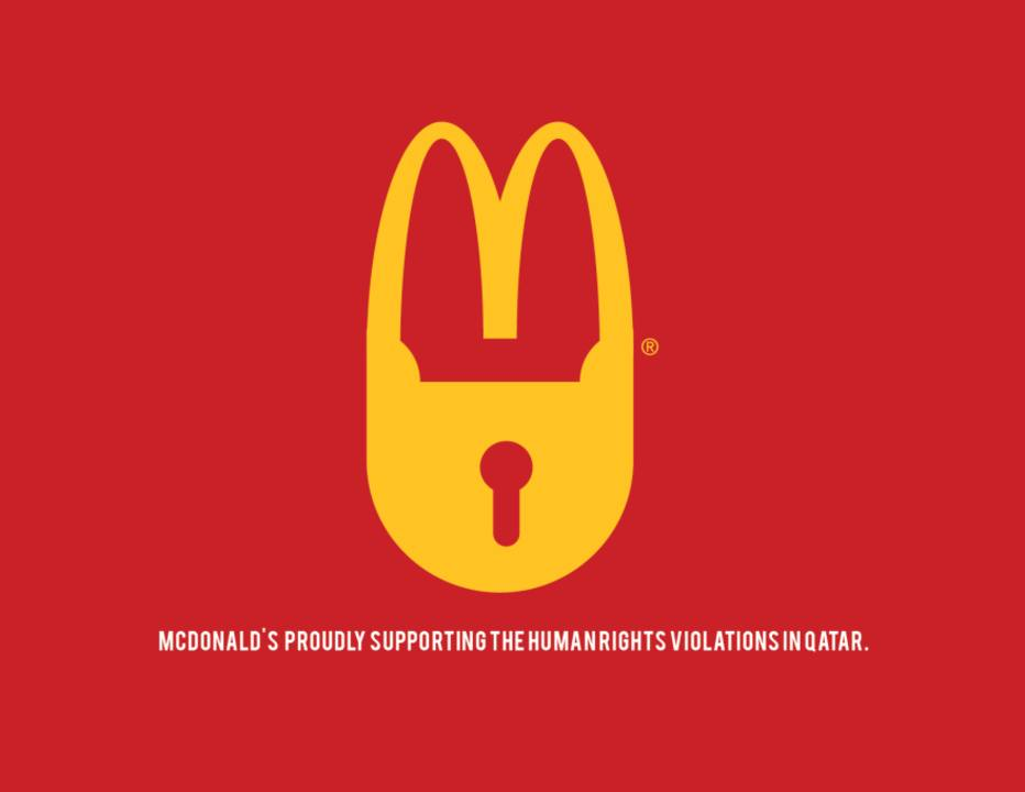 Anti-logo McDonalds