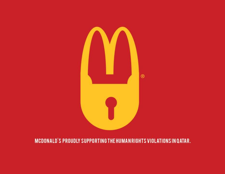 Anti-logo McDonalds
