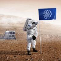 E se um designer resolvesse criar uma bandeira para o nosso planeta?