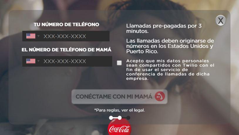 chamadas-gratuitas-porto-rico-eua-campanha-coca-cola-dia-das-maes