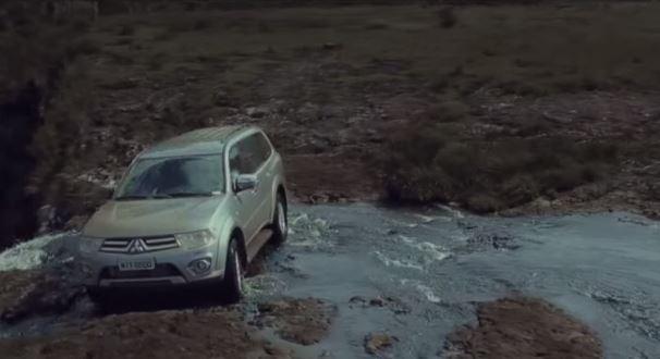 """Mitsubishi Pajero: """"Viver é mais importante do que postar"""""""