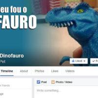 Conheça o Dinofauro. A mais nova sensação do Facebook
