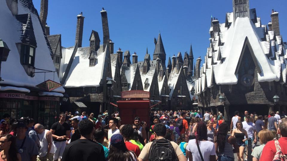 A saga Harry Potter já tem seu lugar cativo no Universal Islands of Adventure , em Orlando. Foto: Thassius Veloso.