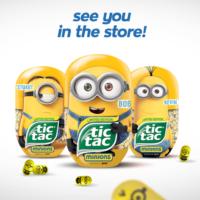 Edição limitada do Tic-Tac transforma balas em Minions