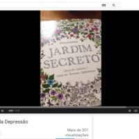 Este é o tutorial mais sensacional de como pintar o livro Jardim Secreto