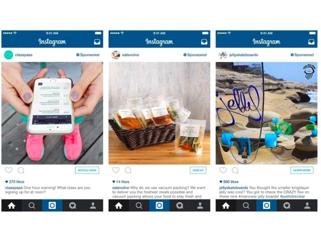 Instagram revela passos mais agressivos para exibição de anúncios