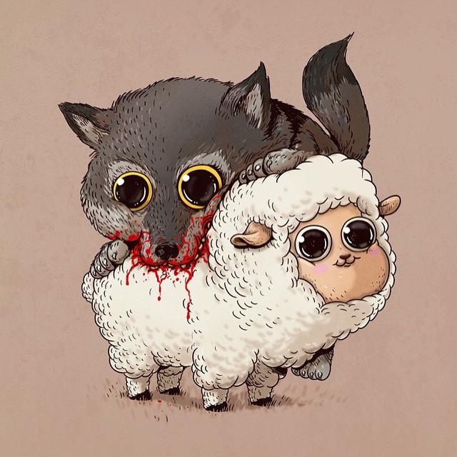 Lobo e ovelha