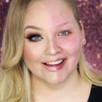 """Este rosto """"meio a meio"""" não tem nada de Photoshop, apenas maquiagem"""