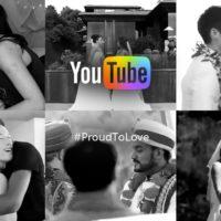 YouTube comemora aprovação do casamento igualitário com vídeo emocionante. #ProudToLove