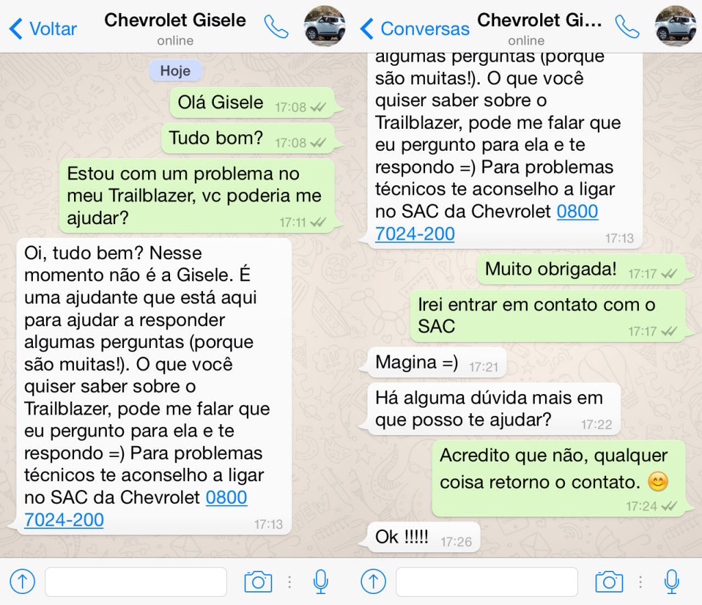 whatsapp-gisele-chevrolet-trailblazer-blog-geek-publicitario
