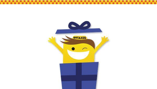 99Taxis comemora dia 9/9 distribuindo 99 presentes para consumidores