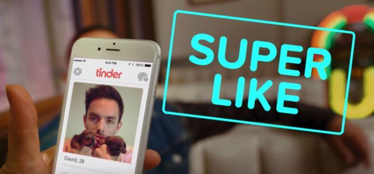 """Tinder lança novo recurso: deslize para cima para dar """"Super Like"""""""