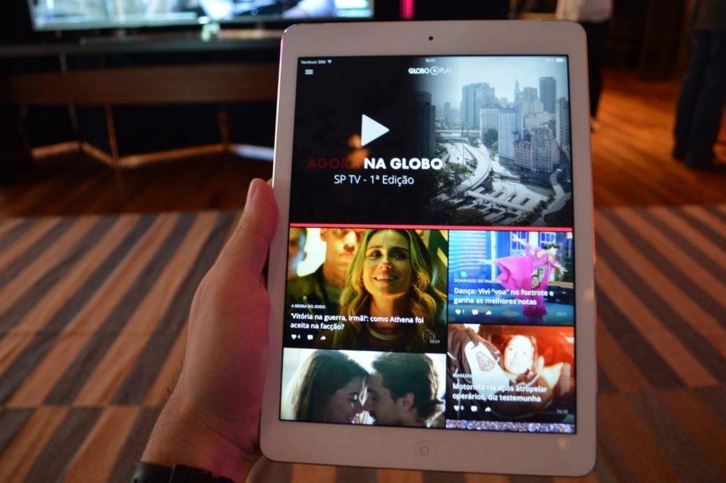 Globo Play. Foto: Matheus Ferreira/Geek Publicitário