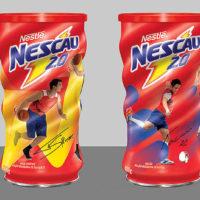 Nescau lança linha de latas colecionáveis com ídolos do esporte