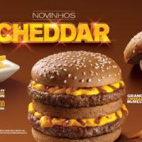 McDonald's lança Grand Cheddar McMelt, Super Cheddar Bacon e McFritas Cheddar Bacon