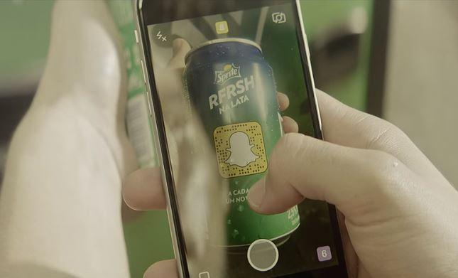 RFRSH na Lata: Sprite vai exibir snapcodes de clientes em suas latas de refrigerante