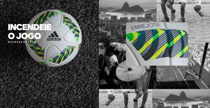 8a76784225 Errejota  conheça a bola oficial das Olimpíadas Rio 2016 - Geek ...
