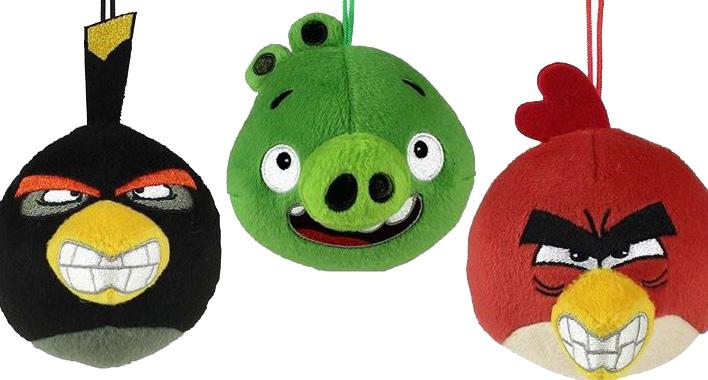 Pelúcias do Angry Birds serão os próximos brindes do McLanche Feliz