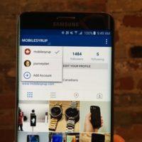 Instagram está testando suporte a múltiplas contas em app para Android
