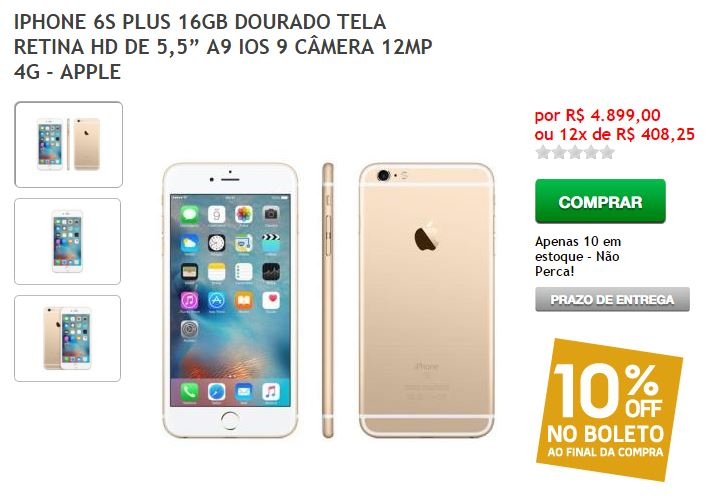 iphone-6s-plus-16gb-4.899-preco-errado-fnac-blog-geek-publicitario