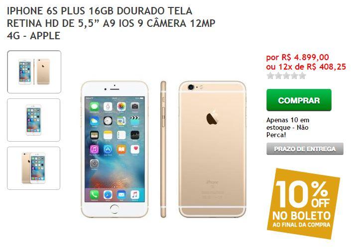 iphone-6s-plus-16gb-4.899-preco-errado-fnac-blog-geek-publicitario