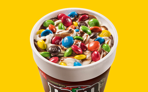 McFlurry M&M's é a nova sobremesa do McDonald's