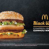 Compre um Big Mac e leve outro grátis na Black Week do McDonald's