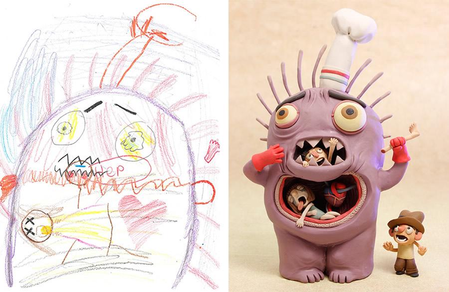 the-monster-project-3-desenhos-criancas-ilustracoes-incriveis-blog-geek-publicitario