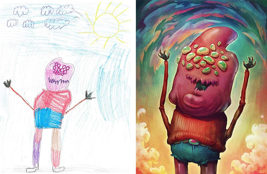 the-monster-project-4-desenhos-criancas-ilustracoes-incriveis-blog-geek-publicitario