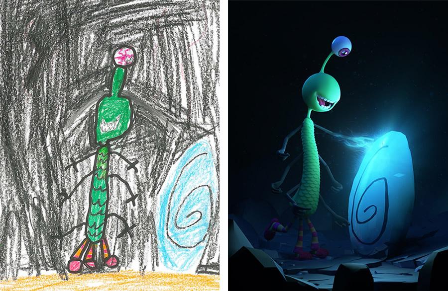 the-monster-project-5-desenhos-criancas-ilustracoes-incriveis-blog-geek-publicitario