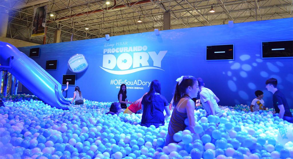 estande-procurando-dory-ccxp-comic-con-2015-blog-geek-publictario