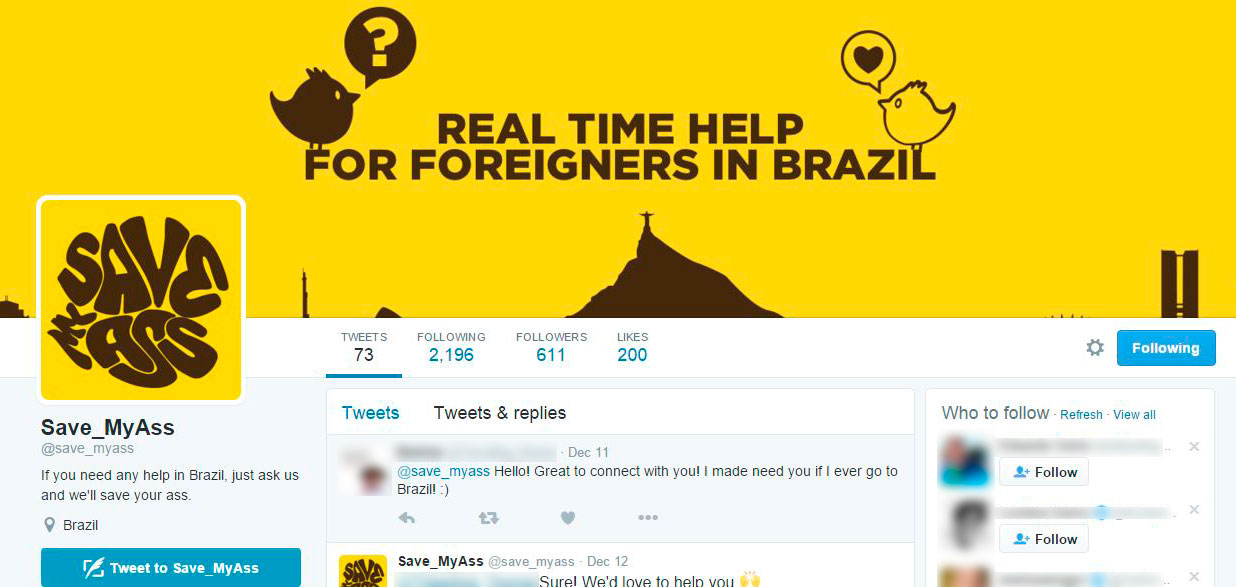 twitter-save-my-ass-ajuda-estrangeiros-no-brasil-blog-geek-publicitario