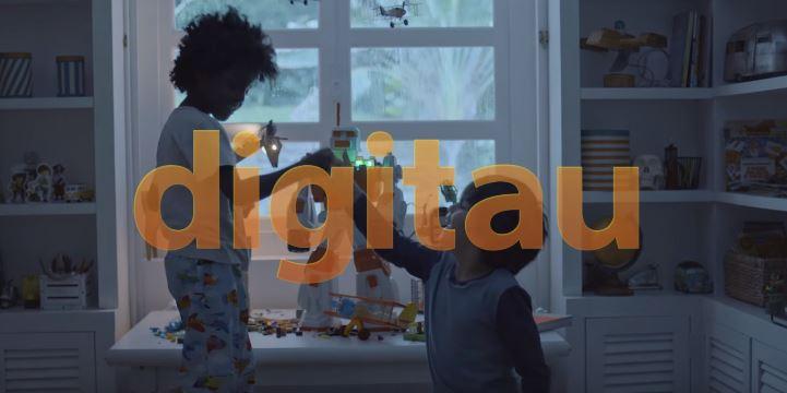 """Itaú se apresenta como Banco Digitau. Isso mesmo, com """"u"""". De Itaú"""