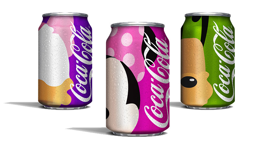 latas-de-coca-cola-inspiradas-nos-personagens-disney-margarida-minnie-pluto-blog-geek-publicitario