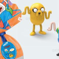 Hora de Aventura: Lacta lança Ovo de Páscoa com bonecos dançantes de Finn e Jake