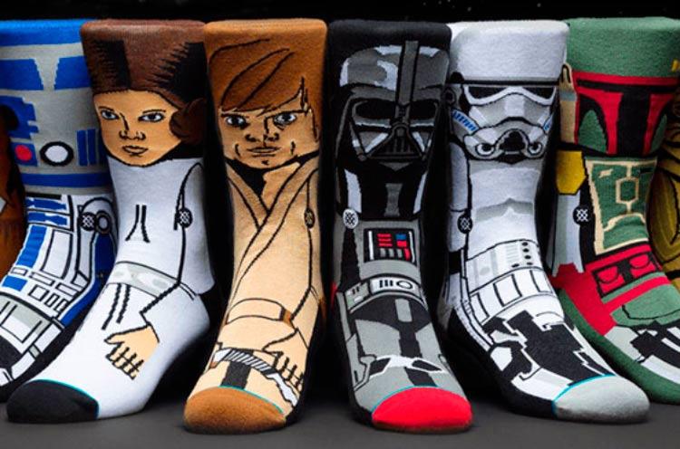 Na hype de Star Wars: transforme seus pés em personagens da série