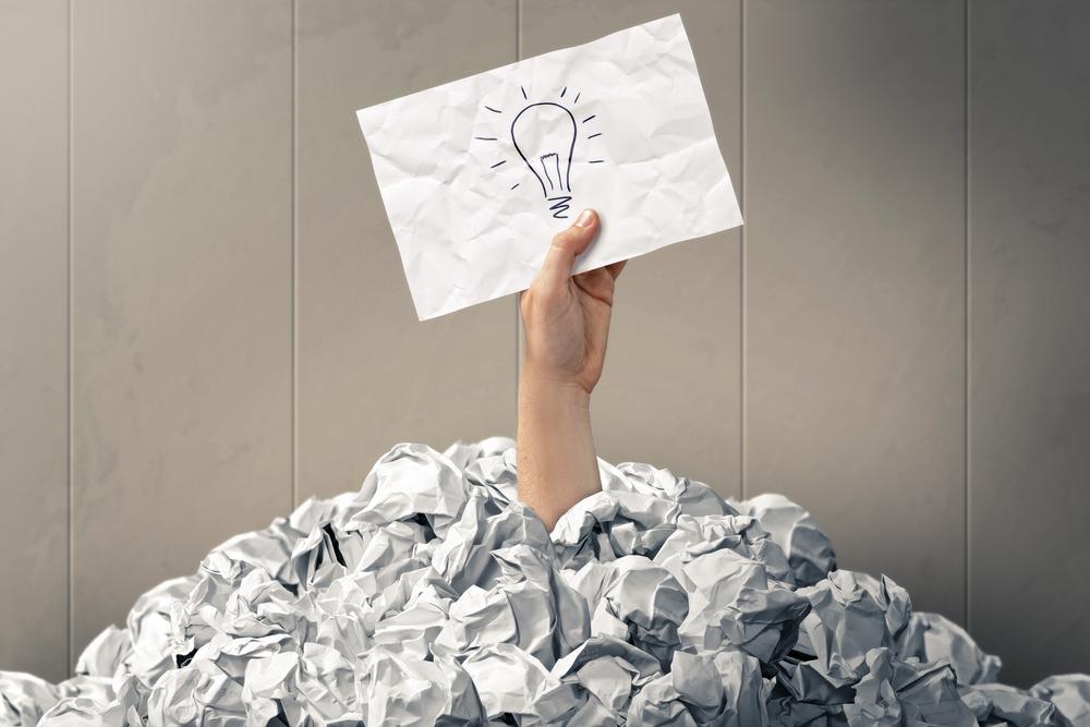 Quando você precisa dar uma ideia a alguém, como você costuma se sair?
