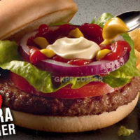 Extra Burger: o novo sanduíche do McDonald's quer ser o seu almoço