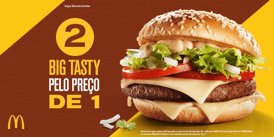 Big tasty mcdonalds coupons