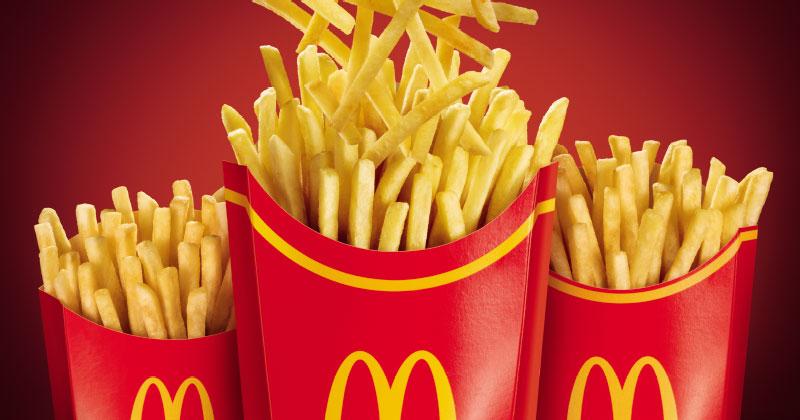 McFritas Mega estão de volta por tempo limitado no McDonald's