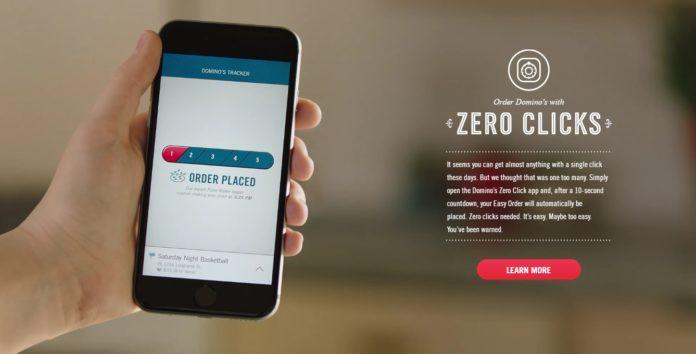 App Da Dominos Permite Que Você Peça Pizza Sem Tocar Na