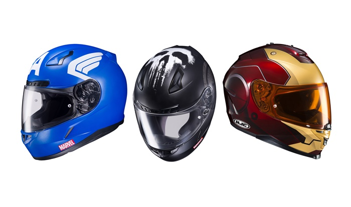 Marvel lança linha de capacetes exclusiva