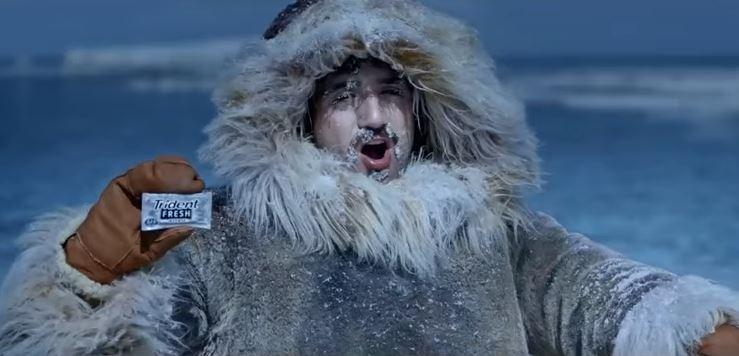 Trident Fresh Limão Ice arrasta consumidor ao Polo Norte em comercial