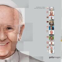 Getty Images une imagens de seu acervo para recriar rostos conhecidos