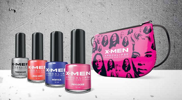 Habib's lança kit com esmalte e outros itens inspirados em X-MEN