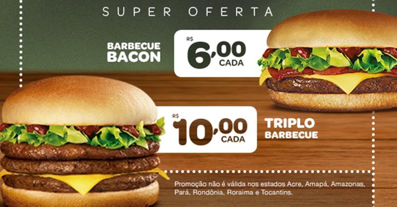Bob's acompanha McDonald's e lança linha Barbecue Bacon para o almoço