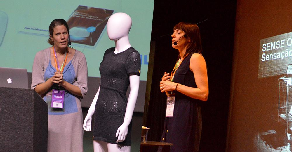 Companhia aérea KLM trouxe ao evento palestrantes sobre moda, tecnologia e inovação.