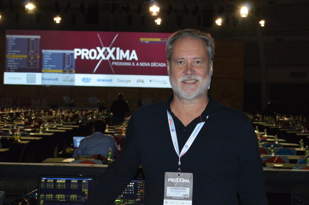 Pyr Marcondes - Diretor-geral da M&M Consulting e organizador do ProXXIma.